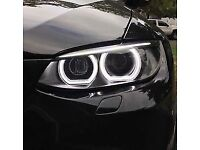 Brand new flat bottom angel eyes for BMW E92 E93