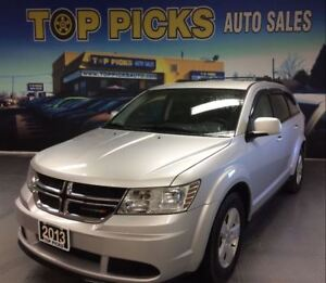 2013 Dodge Journey SE PLUS, ALLOY WHEELS, BACK UP CAM, PARK ASSI