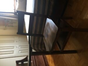 CHAISE-TABLE  antique