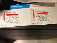 Selling 2 x Saturday Day SW4 tickets
