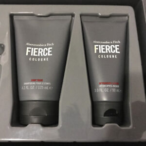Abercrombie & Fitch Fierce Shower Gel Body Wash + After Shave