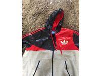 Men's addidas tracksuit jacket xl