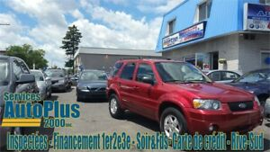 2007 Ford Escape Limited CUIR - TOIT - MAG - A/C