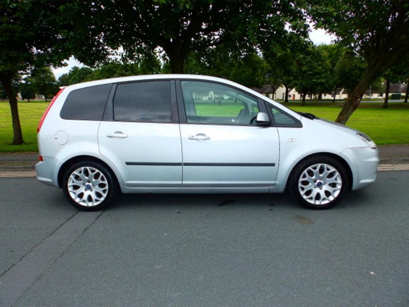 2009 09'reg Ford C-MAX 1.6TDCi 110 Zetec **£30 Yearly Road Tax**