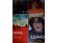 John Lennon and Beatles collection books