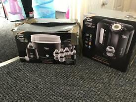 Special edition tommee tippee steriliser and bottle prep