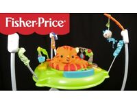 Fisher Price Roarin 'Rainforest Jumperoo Baby Bouncer
