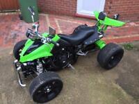Spy F1 quad bike