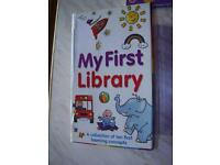 My First Library- Box Of 10 Little Kids Books