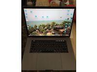 """Apple MacBook Pro with Touch Bar, Intel Core i7, 16GB RAM, 512GB, 15.4"""" purchased jan 14th 2017"""