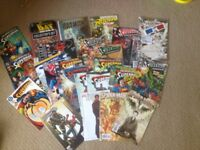 Superman batman Spider-Man comic book bundle