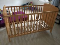 BABY WOODEN COT BED frames