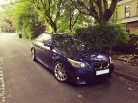 2008 BMW 530D M SPORT INDIVIDUAL BLUE FISH TOP SPEC