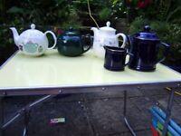 Teapot x 4