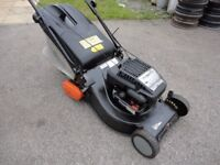 18 inch Petrol Lawnmower. rear roller. serviced.