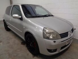 RENAULT CLIO 182 , 2005 REG , LOW MILES + FULL HISTORY , YEARS MOT , FINANCE AVAILABLE , WARRANTY