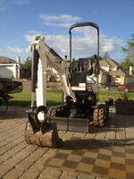 Bobcat Mini Excavator for Rent or Hire