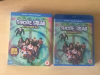Suicide Squad Blu-Ray Extended Cut (Sealed, Brand New)