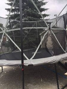 Oval shaped Outbound trampoline for sale