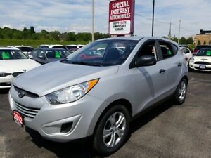 2012 Hyundai Tucson GL ACCIDENT FREE !!  ONE OWNER !!