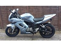 Suzuki SV 650 S in light metallic blue For Sale added extras include heated grips