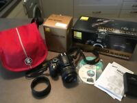 Nikon D3100 plus upgraded portrait lens