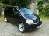 2004 VW Caravelle. Full campervan conversion. New clutch and clean MOT. Like Transporter.