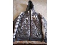 Adidas Puffer Coat/Jacket (Grey)