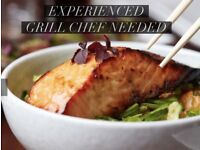 GRILL CHEF - FOR PAN ASIAN RESTAURANT - HIGH SALARY