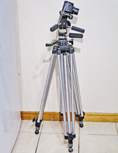 MANFROTTO PROFESSIONAL 028 TRIPOD with MANFROTTO 029 HEAD