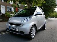 2009 smart fortwo coupe 0.8 diesel automatic