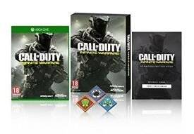 XboxOne Infinite Warfare Standard Plus Edition With Extra Content And Pin Badges