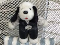 THE RARE ELVIS HOUND DOG BEAR. AND IN GREAT CONDITION. WITH ELVIS FACSIMILE SIGNATURE