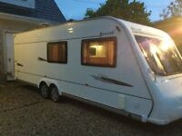 2008 elddis avante club 6 berth fixed bed