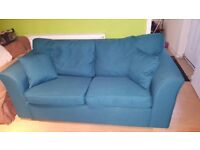 Green/Emerald Double Sofa Bed Perfect Condition