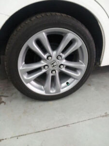 5 HONDA CIVIC SI RIMS FOR THE PRICE OF 4