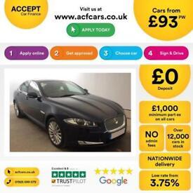 Jaguar XF Luxury FROM £93 PER WEEK!