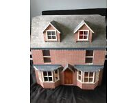Dolls House in excellent condition fully fitted out with working lights £100 ono tel 07515363454