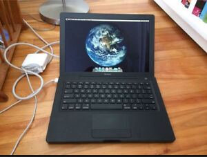 "13"" Black MacBook"