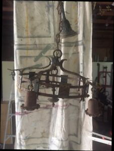 Antique very early chandelier