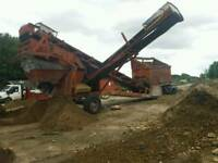 3 way screener/ digger/finlay