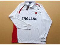 ENGLAND RUGBY TOP ( XXL ) Brand New With Tabs. (Cotton)
