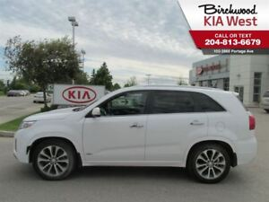 2015 Kia Sorento SX *NAVIGATION/ LEATHER SEATING/ SUNROOF*