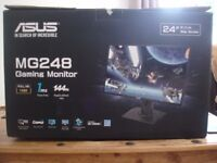 Like-new ASUS 144hz Monitor, 24 inch, 1ms Response-time