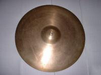 """Zildjian Avedis 21"""" 1960's Heavy ride cymbal"""