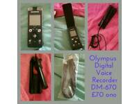 Olympus Digital Voice Recorder DM-670