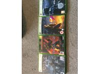XBOX 360 Halo Games incl Limited Edition Halo Reach