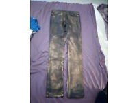 NEW Oasis jeans gold & black, limited edition. Never worn