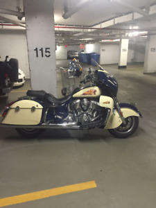 Moto indian chieftain 2015  taxes incluse