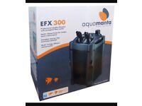 Aquamanta EFX 300 external fish tank filter pump